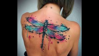 The Best Dragonfly Tattoos - Los Mejores Tatuajes De Libelula