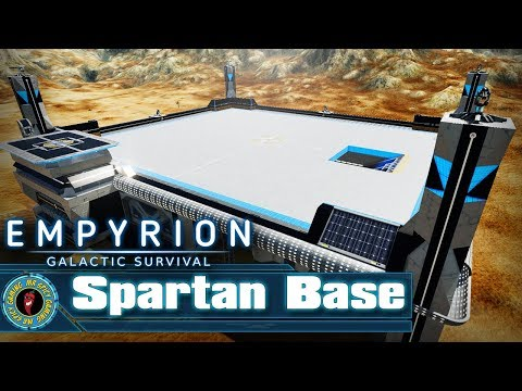 Spartan Base by (SOB) Ronan -  Empyrion: Galactic Survival Workshop Showcase