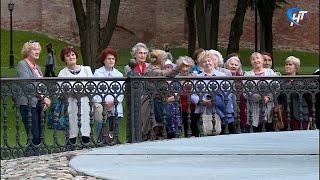 Великий Новгород посетили бывшие малолетние узники из Великих Лук