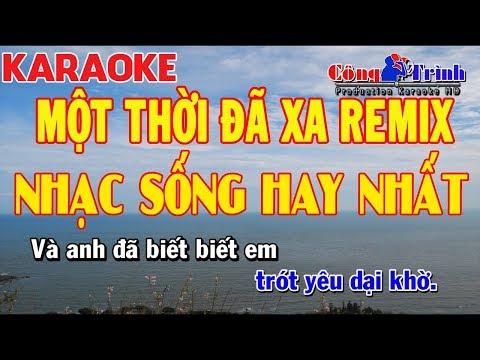 Karaoke Một Thời Đã Xa Remix _ Tone Nam   Full Beat 2018   Organ Bé Bel   Công Trình Karaoke