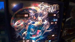 Fathom Pinball Machine Bally 1980