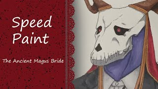 Elias Ainsworth  - (The Ancient Magus' Bride) - The Ancient Magus Bride - Elias Ainsworth [Speedpaint]