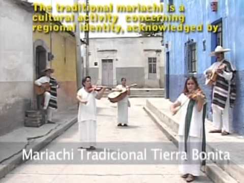 Mariachi, string music, song and trumpet - intangible heritage