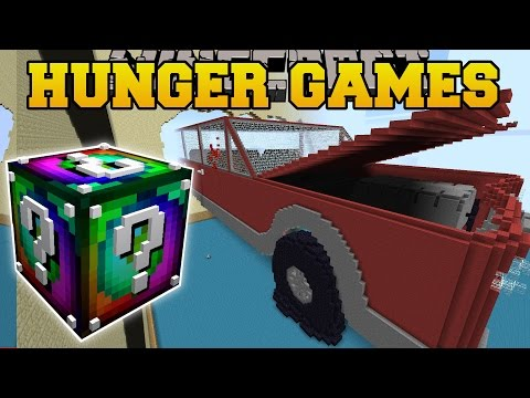 Minecraft: CAR CRASH HUNGER GAMES - Lucky Block Mod - Modded Mini-Game