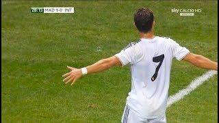 The Day Ronaldo Created His Trademark Celebration
