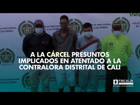 Fiscal Francisco Barbosa: A la cárcel presuntos implicados en atentado a Contralora de Cali