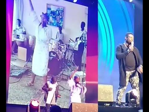 Pepsi Rhythm Unplugged 2018 : Ikorodu Boiz imitates DJ Cuppy .  Acapella cracks the crowd.