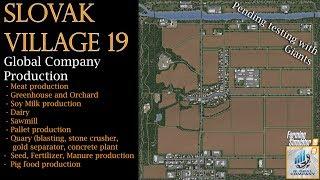 Slovak Village 19 Map Premier - FS19 - Global Company - Seasons Mask