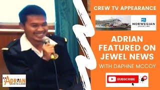 Emcee: Adrian Pantonial's TV Interview for Jewel News