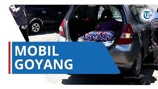Tepergok Mesum, Mobil Goyang Ini Tabrak Satpam dan Palang Pintu di Parkiran Solo Paragon Mall