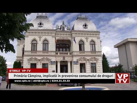Primăria Câmpina, implicată în prevenirea consumului de droguri