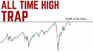 Why the Stock Market Will FAIL at the New Highs