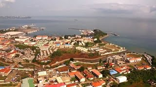 preview picture of video 'Equatorial Guinea. Malabo and Bata / Крупные города Экваториальной Гвинеи. Малабо и Бата.'