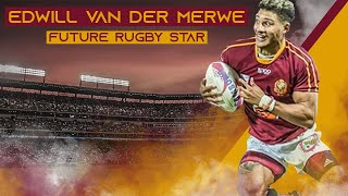 Future South African Rugby Star | Edwill Van Der Merwe Speed Steps Skills And Tries