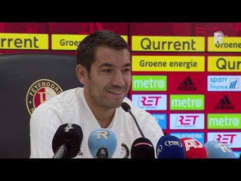 Van Bronckhorst over Feyenoord-PSV: 'Van Persie en Botteghin twijfelgevallen'