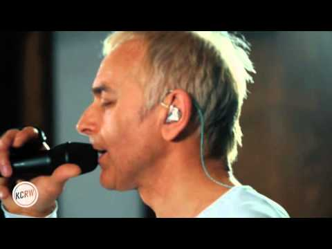 "Underworld performing ""Low Burn"" Live on KCRW"