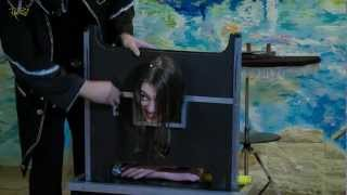 Девушке хотели отрезать голову ;)