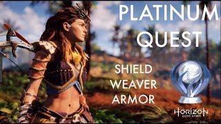 Horizon Zero Dawn Platinum Quest: Shield Weaver Armor