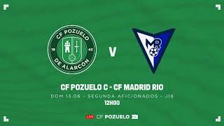 R.F.F.M. - SEGUNDA DE AFICIONADOS (Grupo 7) - JORNADA 18: C.F. Pozuelo de Alarcón 1-0 C.F. Madrid Rio