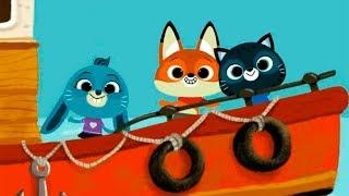 Игровой мультик про малышей Котенка и Собачку. Мои новые виртуальные питомцы в игре для детей