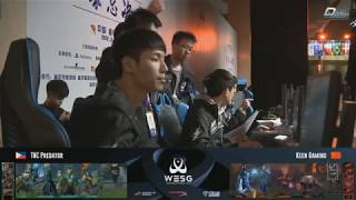 WESG | Grand Final | TNC vs Keen Gaming - Game 1 | Philippines vs China - Game 1 |