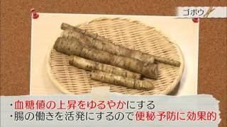 ゴボウの特徴・効能・栄養