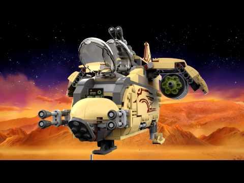 Lego Star Wars 75084 Wookie Gunship Bontatlan, Új, Ritkaság!!!