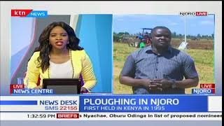 President Uhuru Kenyatta expected at the second ploughing competition in Njoro