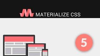 5.- Tutoriales Materialize - Colores