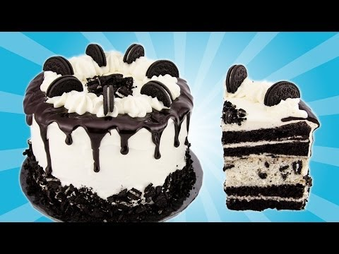 Video Oreo Cake Recipe from Cookies Cupcakes and Cardio