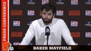 Baker Mayfield Postgame Press Conference vs. Rams | Cleveland Browns