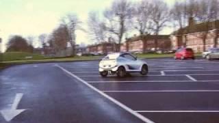 preview picture of video 'Zero-emission sportcar at Cranfield-DCMT'