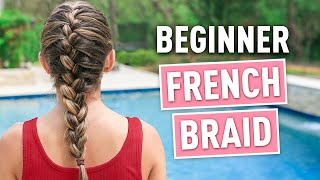 How To French Braid | Back To Basics 101 #WithMe