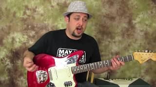 Marty Schwartz Guitar Review, Fender Jaguar (Kurt Cobain