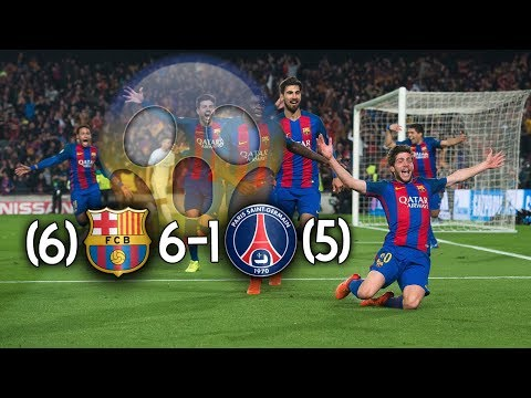 The Day FC Barcelona Proved Everything Is Possible ● FC BARCELONA  6-1 PSG (03/08/2017) | HD