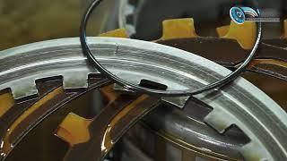 Процесс ремонта гидротрансфоматора