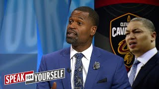 Stephen Jackson on officiating in NBA Finals and JR Smith's struggles | NBA | SPEAK FOR YOURSELF