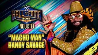 "2015 WWE Hall Of Fame: 1st Inductee: ""Macho Man"" Randy Savage!"
