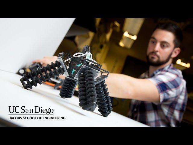 Напечатанный на 3D-принтере робот получил «мягкие» ноги