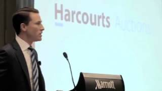 What does a Live Auction mean at Harcourts?