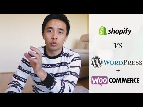 Shopify VS WordPress & WooCommerce - My Honest Review 2018!