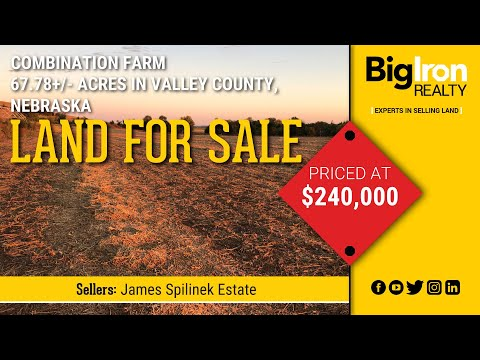 67.78+/- Acres Valley County, NE