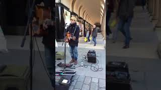 Street Performer Guitar Cover - Damien Rice (It Takes a Lot to Know a Man)