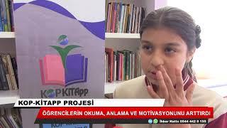 """""""KOP-Kitapp"""" projesi öğrencilerde okuma alışkanlığını artırdı"""