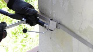 Инструмент для натяжения и резки стальной ленты от компании VL-Electro - видео
