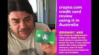Crypto.com Adresse Uberprufung anhangig von Australien