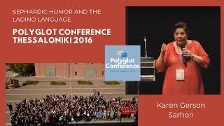 Karen Gerson Sarhon – Sephardic Humor And The Ladino Language