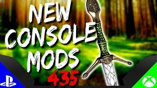 Skyrim Special Edition: ▶️5 BRAND NEW CONSOLE MODS◀️ #435 (PS4/XB1/PC)