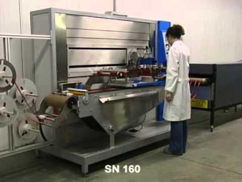 serie SN 160_MAQUINAS SERIGRAFICAS PARA LA IMPRESION DE CINTAS TEJIDAS y ELASTICOS