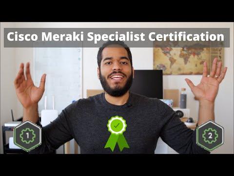 Cisco Meraki Certification: Cisco Meraki Solutions Specialist - what ...
